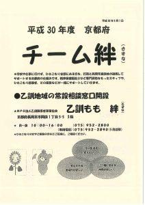 平成30年度チーム絆①