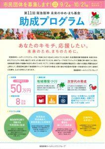 第11回阪急阪神未来のゆめ・まち基金①